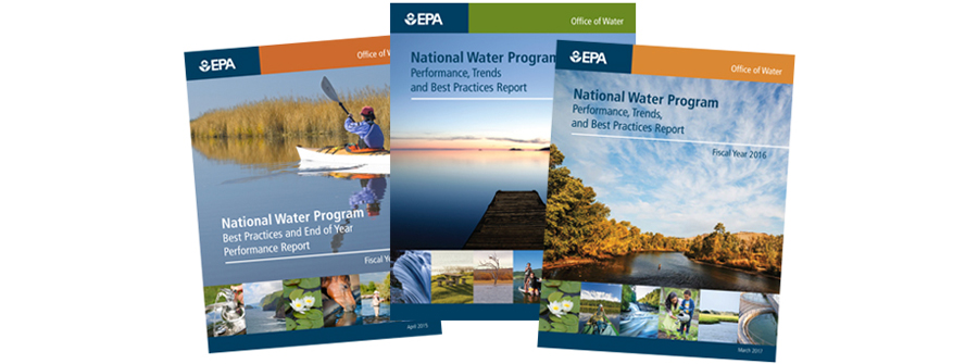 Covers of water reports