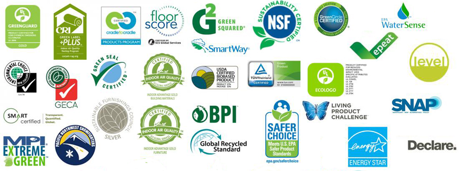 Ecolabel logos